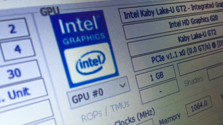 Intel HD 620 Graphics