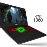Nvidia GeForce GTX 1060 in Asus Laptop