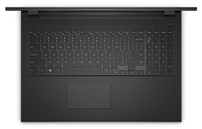 Keyboard and Trackpad of Dell 3541 Laptop