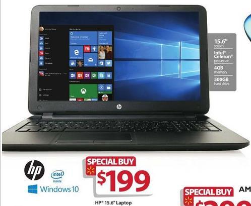"hp black 15.6"" 15 f209wm laptop (intel celeron n2840 cpu"