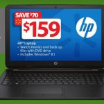 Walmart 159 Black Friday 2014 Laptop HP Black 15-f004wm
