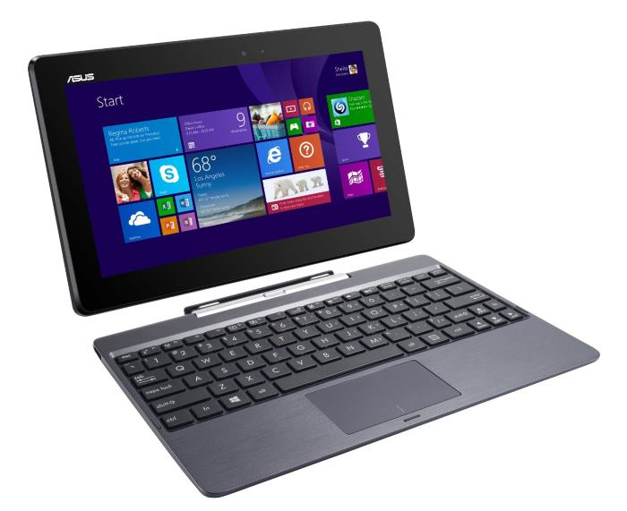 ASUS Transformer Book T100TAF-B1-MS Signature Edition 2 in 1 PC