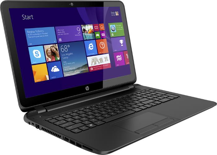 Hp 15 F111dx Laptop With Touchscreen Amd A8 Cpu 8gb Ram