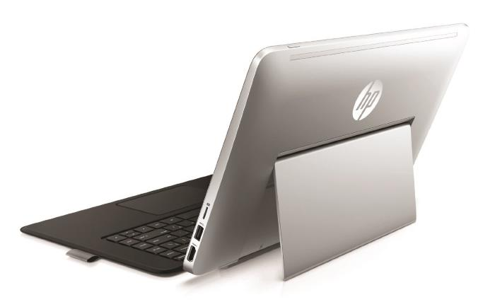 HP Envy x2 13t Back View