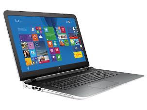 HP Pavilion 17t 2015 White - Left View