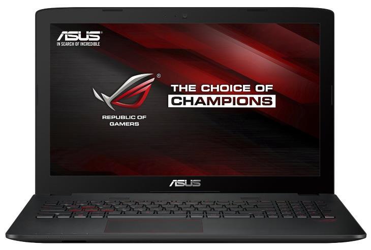 "Asus ROG GL552VW DH71 & DH74 15.6"" Gaming Laptop (GeForce GTX 960M GPU, Intel i7 Quad CPU, 16GB DDR4 RAM, 1TB HDD / 256GB SSD, Metallic)"