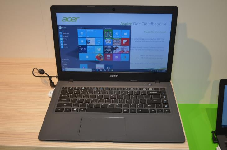 Acer aspire one cloudbook 14 ao1 431 c7f9 200 laptop for 14 inch window