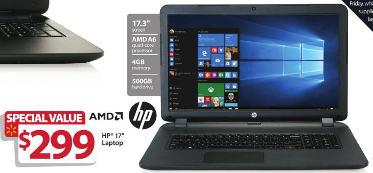 Hp black 17 3 17 p121wm laptop amd a6 6310 cpu 4gb ram for What does spec home mean