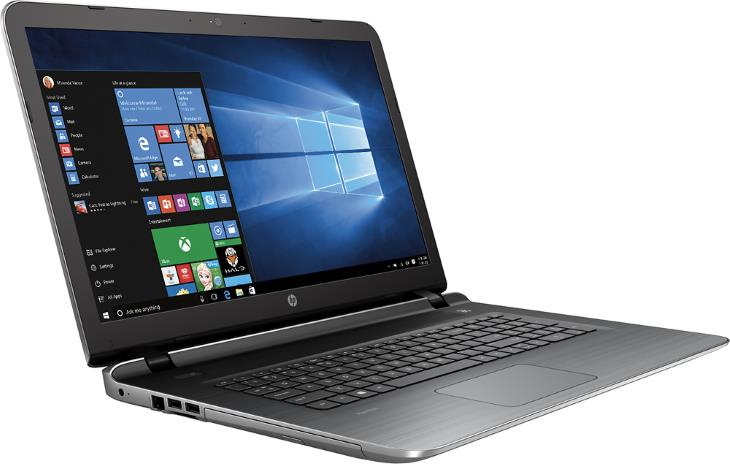 hp pavilion 17 g119dx 17 3 laptop with intel core i5 4gb. Black Bedroom Furniture Sets. Home Design Ideas