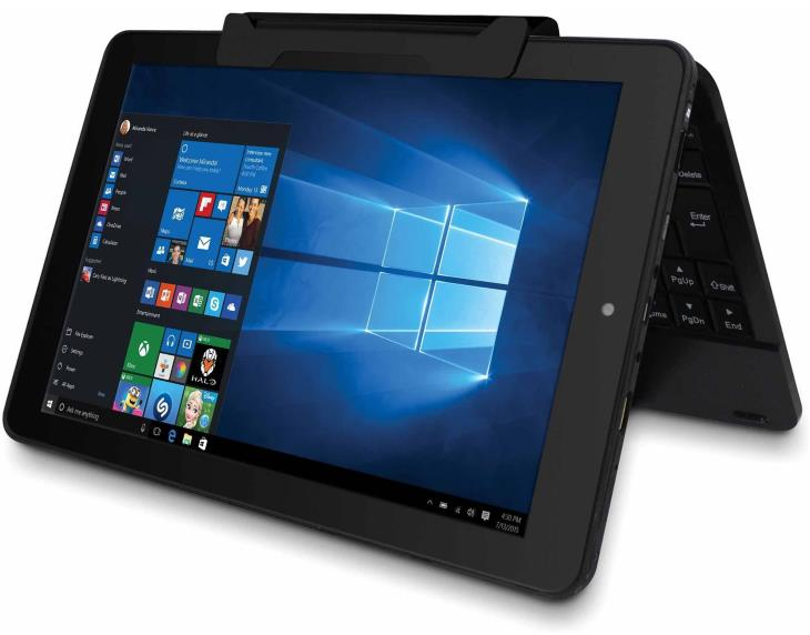 RCA Cambio W101V2 C 10.1 2-in-1 Tablet 32GB, Intel Atom Quad Core, Windows 10 Walmart 554302347