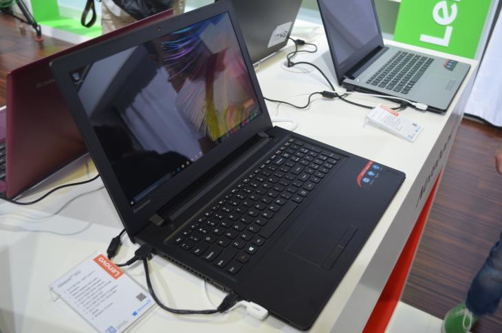 Lenovo 300 IdeaPad Laptop Left Side
