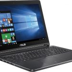 Asus Q552UB-BHI7T12 - 2-in-1 15.6 Touch-Screen Laptop - Intel Core i7 - 12GB Memory - 1TB Hard Drive - Aluminum Black