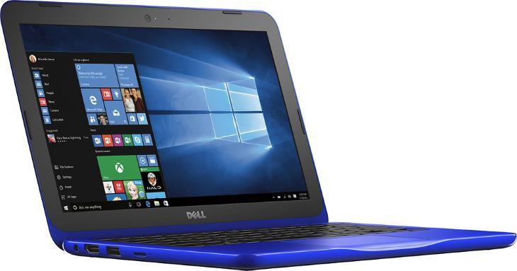 dell inspiron i3162 0000blu 11 6 laptop intel celeron 2gb ram 32gb emmc bali blue. Black Bedroom Furniture Sets. Home Design Ideas