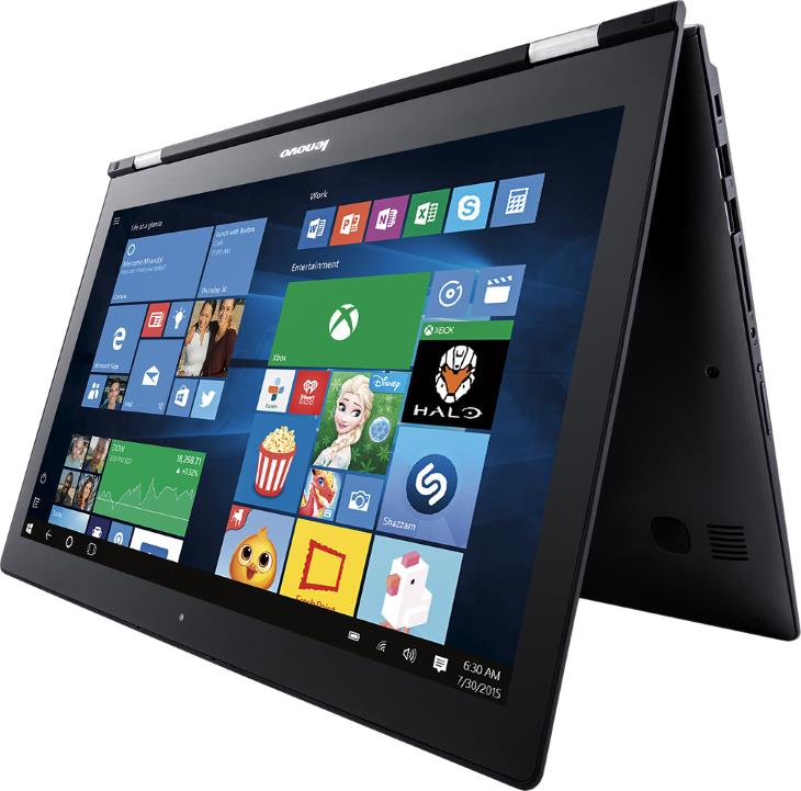 Lenovo Edge 2 80QF0005US - 80QF0004US 15.6 2-in-1 Touch-Screen Laptop (Intel Core i5 - i7, 8GB Memory, 1TB Hard Drive, Gunmetal)