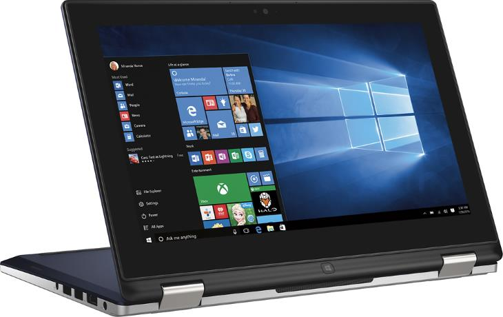 Dell Inspiron i3153-5025BLU 2-in-1 11.6 Touch-Screen Laptop (Intel Core i3, 8GB RAM, 128GB SSD, Blue) 2