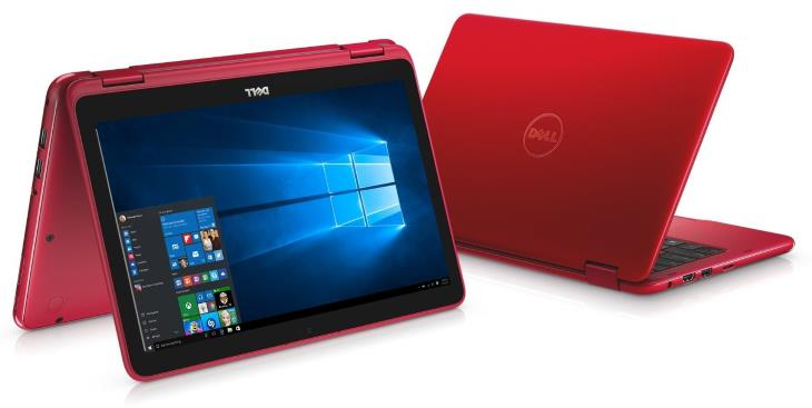 Dell Inspiron 11 3000 3168 i3168 Red 2