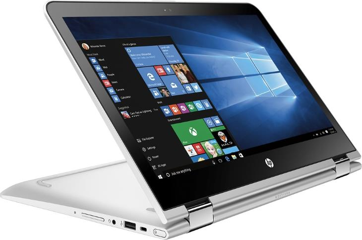 HP Pavilion x360 M3-u001dx 2-in-1 13.3 Touch Laptop (Intel Core i3, 6GB Memory, 500GB Hard Drive, Natural Silver, Ash Silver) 2