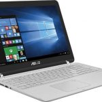 Asus Q504UA-BHI5T13 15.6 2-in-1 Touch Laptop (Intel i5 CPU, 12GB RAM, 1TB HDD, Sandblasted Aluminum Silver Chrome Hinge