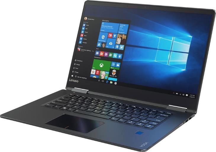 Lenovo Yoga 710 80V50000US 15.6 2-in-1 Touch-Screen Laptop (Intel Core i5, Nvidia GeForce 940MX, 8GB RAM, 256GB SSD, Pearl Black)