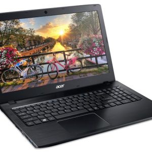 Acer Aspire E 15 E5-575G-57D4 15.6-Inch Full HD Notebook (i5-7200U, 8GB DDR4 SDRAM, 256GB SSD, Windows 10 Home), Obsidian Black