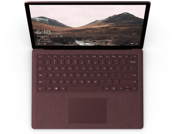 Microsoft Surface Laptop Intel i5 256GB - Burgundy - DAG-00005