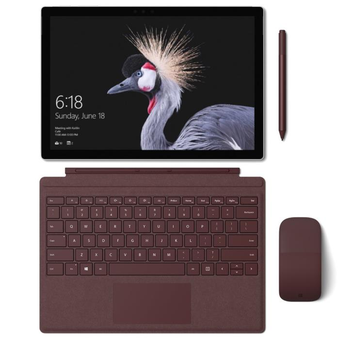 Microsoft Surface Pro 2017 with Accessories