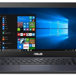 ASUS L402SA-WH02-OFCE Portable Lightweight Laptop PC, Intel Dual Core Processor, 4GB RAM, 32GB Flash Storage with Windows 10 with 1 Year Microsoft Office 365