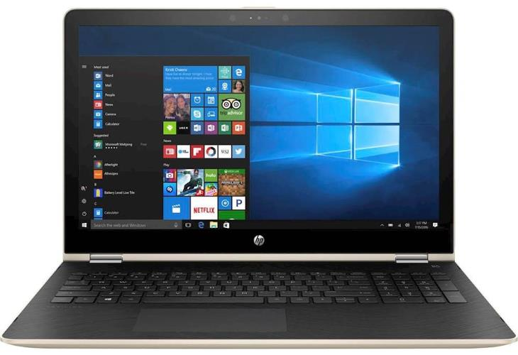 HP Pavilion x360 15t (1KE82AV_1, 2017) 2-in-1 15.6 Convertible Laptop