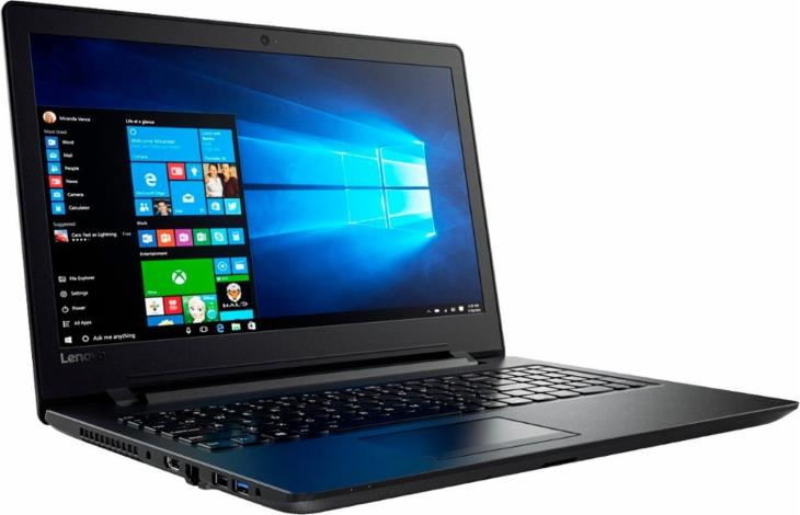 Lenovo IdeaPad 110-15ACL 80TJ00LRUS 15.6 Laptop (AMD A6-Series CPU, Radeon R4, 4GB RAM, 500GB HDD, Black)