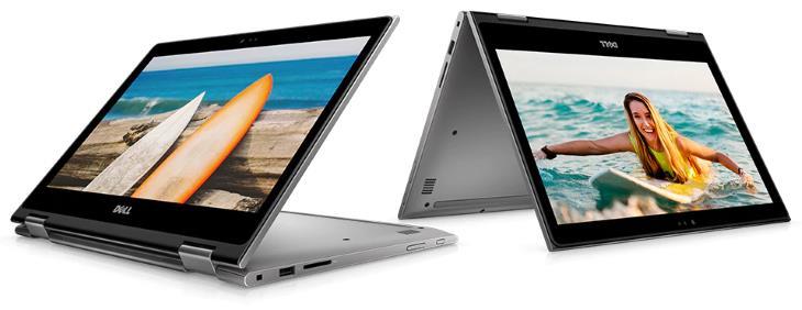 Dell Inspiron 5000 i5379-5043GRY-PUS 2-in-1, 13.3 Full HD Touch Display, 8th Gen Intel Core i5-8250U, 8GB RAM, 1 TB HDD, Windows 10 Home, Theoretical Grey 2