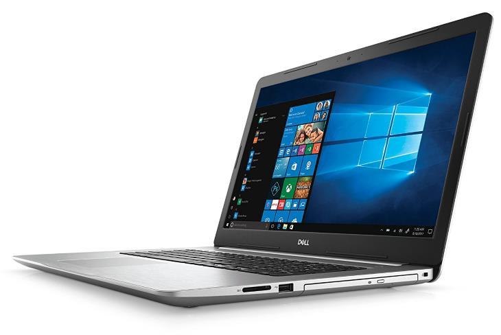 Dell Inspiron i5770-5463SLV-PUS 17.3 8th Gen Intel Core i5 8GB RAM 1TB HDD Intel UHD 620 Platinum Silver