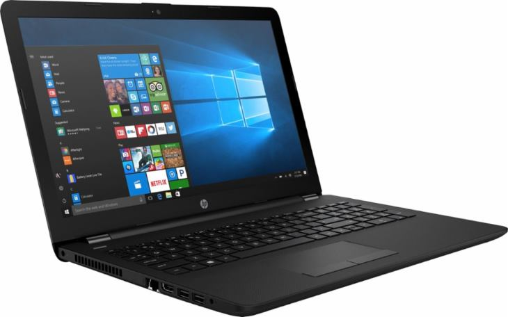 HP 15-bs020WM 15.6 Touch Laptop, Windows 10, Intel Pentium N3710 Quad Core Processor, 4GB Memory, 500GB Hard Drive, DVD