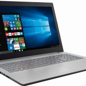 Lenovo IdeaPad 320-15ABR 80XS0024US / 80XS00DJUS 15.6 Laptop (AMD A12-Series CPU, 8GB RAM, 1TB HDD, Platinum Gray)