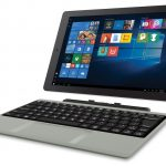 RCA Cambio W101SA23T1S 10.1 2-in-1 Tablet 32GB, Windows 10, Intel Atom Z8350, 2GB RAM, 32GB eMMC, Detachable Keyboard Included