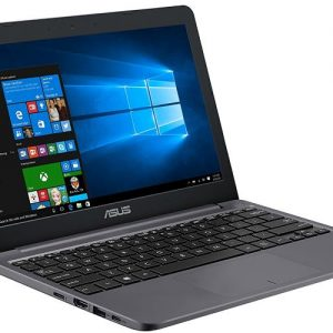"ASUS VivoBook E203NA-YS02, E203NA-YS03 11.6"" Featherweight design Laptop, Intel Dual-Core Celeron N3350 2.4GHz processor, 4GB DDR3 RAM, 64GB EMMC Storage, App based Windows 10 S"