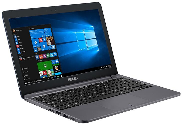 "ASUS VivoBook E203NA-YS02, E203NA-YS03 11.6"" Featherweight design Laptop, Intel Dual-Core Celeron N3350 2.4GHz processor, 4GB DDR3 RAM, 64GB EMMC Storage, App based Windows 10 S"