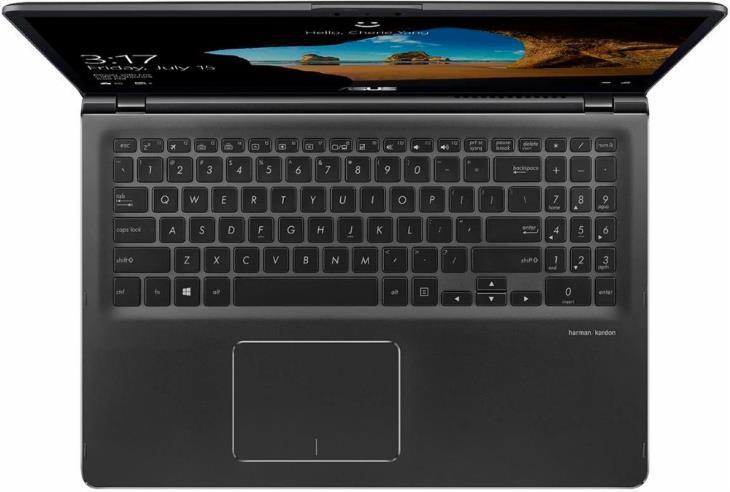 Asus Q535UD-BI7T11 15.6 2-in-1 Touch Laptop (UHD, Intel i7, Nvidia 1050, 16GB RAM, 2TB HDD + 256GB SSD) 3