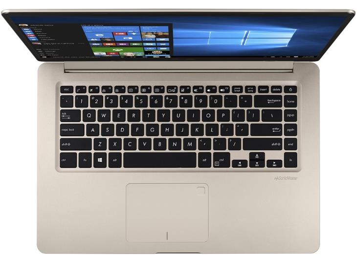 Asus VivoBook S510UA-DS51 15.6 Laptop (FHD, Intel Core i5-8250U, 8GB RAM, 256GB SSD, Icicle Gold)