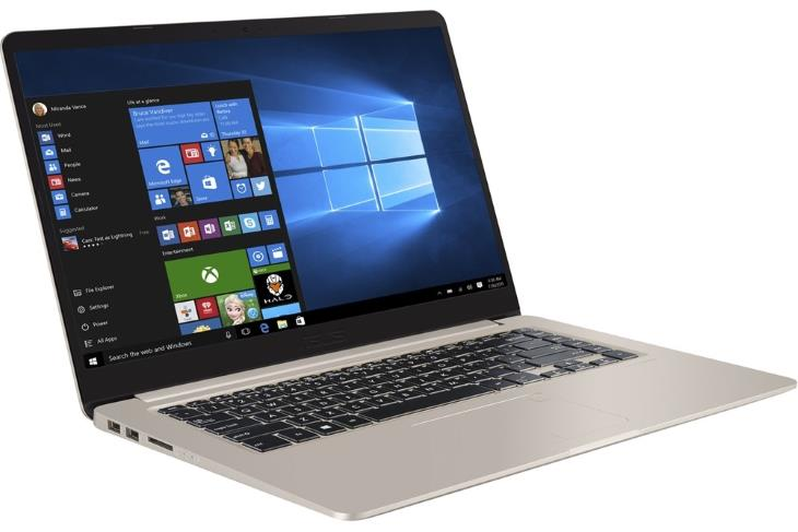 Asus VivoBook S510UA-DS51 15.6 Laptop (Intel Core i5-8250U, 8GB RAM, 256GB SSD, Icicle Gold)