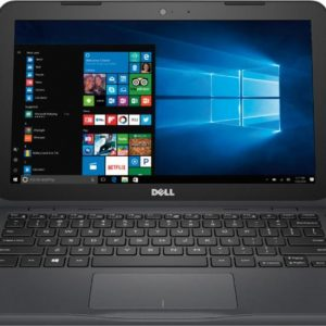 Dell Inspiron I3180-A361GRY-PUS 11.6 Laptop (AMD A6, 4GB RAM, 32GB eMMC Flash, Gray)