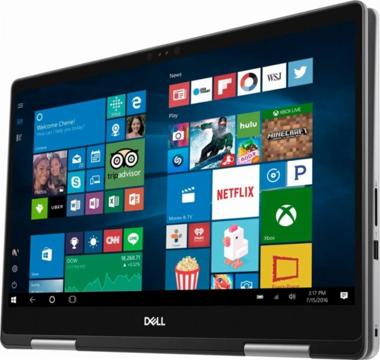Dell Inspiron I7573-5132GRY-PUS 2-in-1 15.6 Touch Laptop (Intel Core i5, 8GB RAM, 256GB SSD, Era Gray) 2