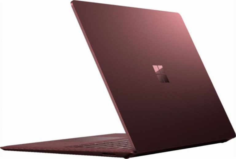 Microsoft Surface Laptop 2 (Burgundy)
