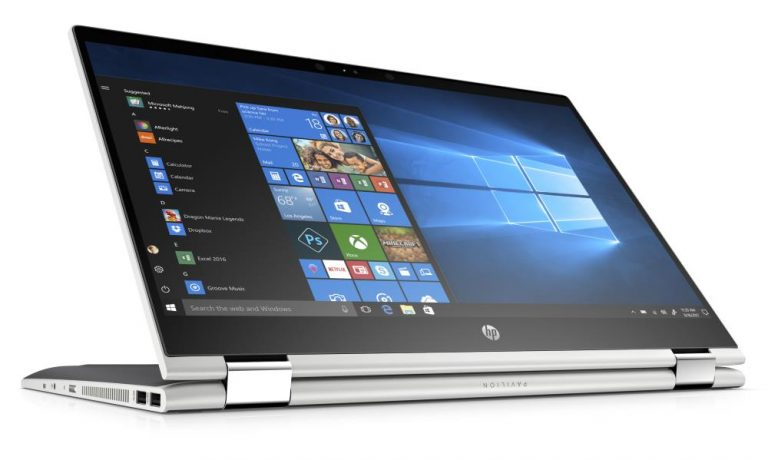 HP Pavilion x360 15-CR0037WM 15.6, Intel Core i3-8130U, Intel UHD Graphics 620, 1TB HDD, 4GB RAM + 16GB Optane, natural silver