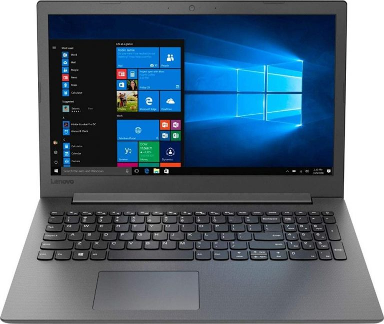 Lenovo 130-15AST 81H5000NUS Laptop (15.6, AMD A6 CPU with Radeon R4, 4GB RAM, 500GB HDD, Black)