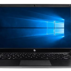 Ematic EWT147 14.1 Laptop PC with Intel Atom Quad-Core Processor, 4GB Memory, 32GB Flash Storage and Windows 10