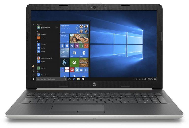 HP 15 15-da0053wm Graphite Mist Laptop 15.6 Touchscreen , Intel Core i5-8250U, Intel UHD 620, 1TB HDD + 16GB Intel Optane,, 4GB SDRAM, DVD