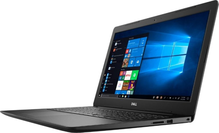 Dell Inspiron BBY-DT45RFX 15.6 Touch-Screen Laptop (Intel Core i3, 8GB RAM, 128GB SSD, Black)