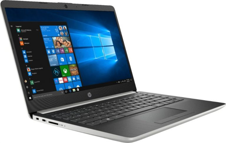 HP 14-DK0002DX 14 Laptop (AMD A9 Series with Radeon R5, 4GB RAM, 128GB SSD, Natural Ash Silver) 2