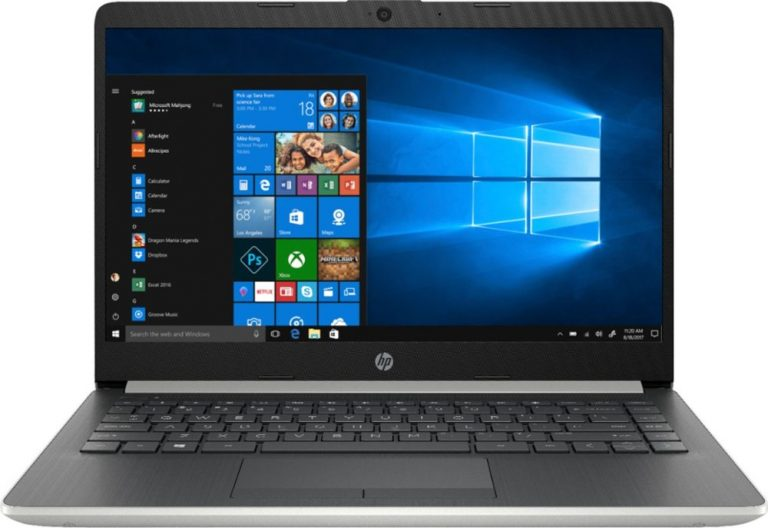 HP 14-DK0002DX 14 Laptop (AMD A9 Series with Radeon R5, 4GB RAM, 128GB SSD, Natural Ash Silver)