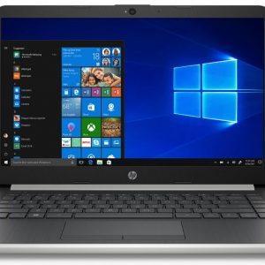 HP 14 Laptop 14-dk0028wm, AMD Ryzen 3 3200U, AMD Radeon Vega 3 Graphics, 4GB SDRAM, 128GB SSD, Whisper Silver